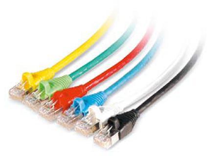 Патч-корд UTP категории 6 предназначен для коммутации цифровых и аналоговых